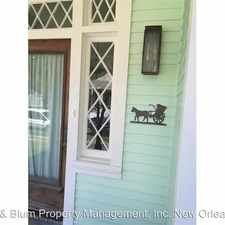 Rental info for 7604 Freret St.