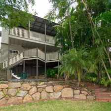 Rental info for IN THE HEART OF WEST END SPACIOUS TWO LEVEL QUEENSLANDER - BRISBANE STATE HIGH CATCHMENT