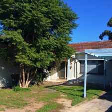 Rental info for Convenient Family Home! in the Adelaide area