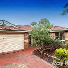 Rental info for Charming Family Home in the Melbourne area