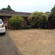 Rental info for OLD STYLE FAMILY HOME in the Perth area