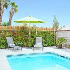 Rental info for 3272 N Mica Dr, Palm Springs, Ca 92262