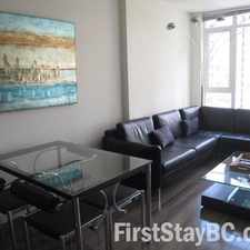 Rental info for 1188 West Pender Street #16th Floor in the West End area