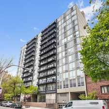 Rental info for N Sheridan Rd & W Briar Place in the Lakeview area
