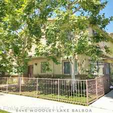Rental info for 6446 Woodley 2 in the Lake Balboa area