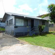 Rental info for 207 Naone St