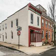 Rental info for 1401 Patapsco St - #2 in the SBIC - West Federal Hill area