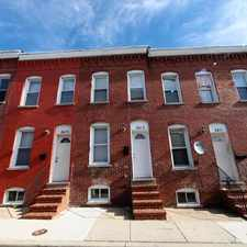 Rental info for 2416 Etting St in the Reservoir Hill area