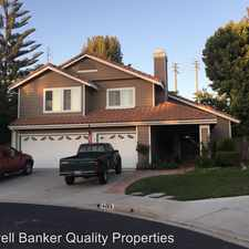 Rental info for 4368 Autumnmeadow Circle in the Moorpark area