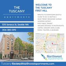 Rental info for 1215 Seneca St. in the First Hill area