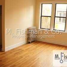 Rental info for 1540 North Kedzie Avenue #3L in the Humboldt Park area
