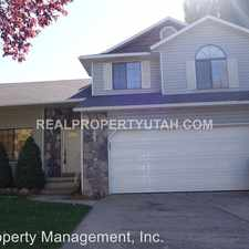 Rental info for 1349 EAST 5150 SOUTH