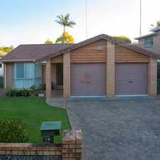 Rental info for Spacious Living - Double Garage - Air Con - Pets in the Brisbane area