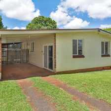 Rental info for Beautifully renovated 3 bedroom home in sought after Rangeville is definite must see. in the Toowoomba area