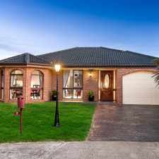 Rental info for AMAZING FAMILY HOME WITH AN STUNNING PRESENTATION
