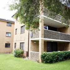 Rental info for GROUND FLOOR UNIT in the Sydney area
