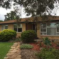 Rental info for 3 BEDROOM FAMILY HOME WITH SHEDDING in the Murray Bridge area
