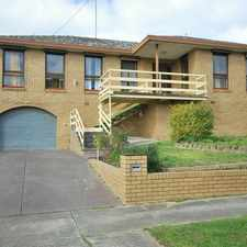 Rental info for Family Home in Ballarat North in the Ballarat area