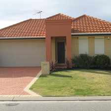 Rental info for SPACIOUS MODERN FAMILY HOME! GREAT LOCATION ! in the Perth area
