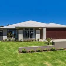Rental info for Beautiful Brand New Home For Fantastic Family Living. in the Perth area