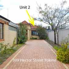 Rental info for LOCATION, MODERN AND SIMPLY SUPERB in the Perth area