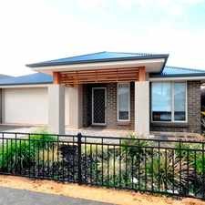 Rental info for 4 BEDROOM FAMILY HOME in the Adelaide area