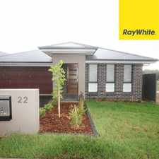 Rental info for Impressive 4 bedroom home in the Currans Hill area