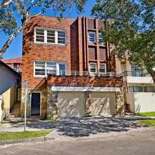 Rental info for TWO BEDROOM APARTMENT IN BONDI!