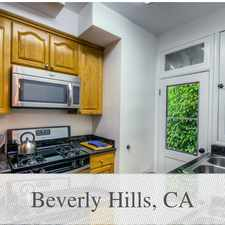 Rental info for House For Rent In BEVERLY HILLS. Parking Availa... in the Beverly Hills area