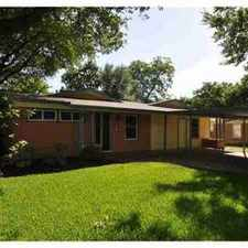 Rental info for 1907 Aggie LN Austin Three BR, Classic Crestview home on in the Austin area