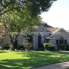 Rental info for 333 Clear Haven Drive in the Dallas area