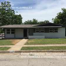 Rental info for 4301 Bonnie Dr in the Bomber Heights area