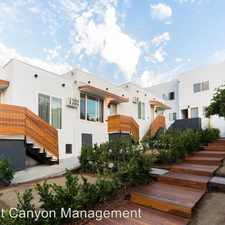 Rental info for 4022 1/2 Monroe Street in the East Hollywood area