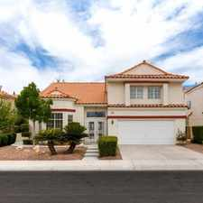Rental info for $3500 4 bedroom House in Las Vegas in the The Section Seven area