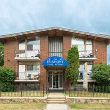 Rental info for Fairmont Apartments - 2 bedrooms Apartment for Rent in the Cromdale area