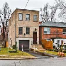 Rental info for Bathurst and Lawrence: 1 khedive avenue, 4BR in the Englemount-Lawrence area