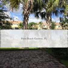 Rental info for 3 Bedrooms House - In The Highly Desirable Gate... in the Palm Beach Gardens area