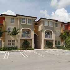Rental info for 11401 NW 89th St #206 in the Hialeah Gardens area