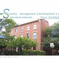Rental info for 500 W North Ave. - #2 Middle in the Pittsburgh area
