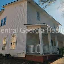 Rental info for 422 Meriwether Street, Unit 4 in the Griffin area