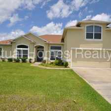 Rental info for 4 bedroom, 3 bathroom two story home w/ a screened porch
