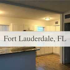 Rental info for Amazing 2 Bedroom, 1 Bath For Rent in the Dania Beach area