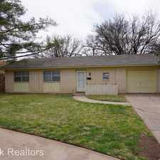 Rental info for 4403 60th in the Lubbock area