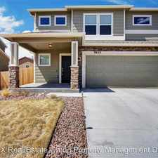 Rental info for 9622 Desert Lily Circle in the Colorado Centre area