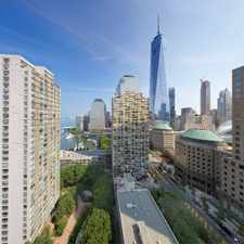 Rental info for Gateway Battery Park City - Gateway Plaza 600