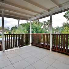Rental info for Amazing Back Yard Space - Great Family Hide Away - Air Con in the Brisbane area