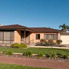 Rental info for GREAT LOCATION WITH FRONTAGE TO LINEAR PARK in the Henley Beach South area
