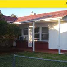 Rental info for 3 bedroom semi, open plan kitchen/dining, separate lounge, r/c a/c, double length garage & large backyard in the Adelaide area