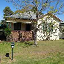 Rental info for HOSPITAL HILL LOCATION - A MUST SEE PROPERTY in the Cessnock area