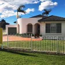 Rental info for Charming Home In Great Village Location! in the Shellharbour area